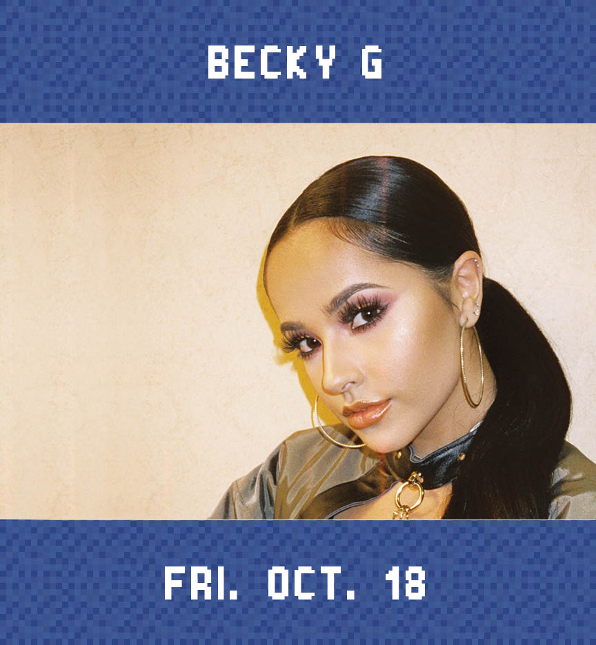 Web Page Concert Photo – Becky G
