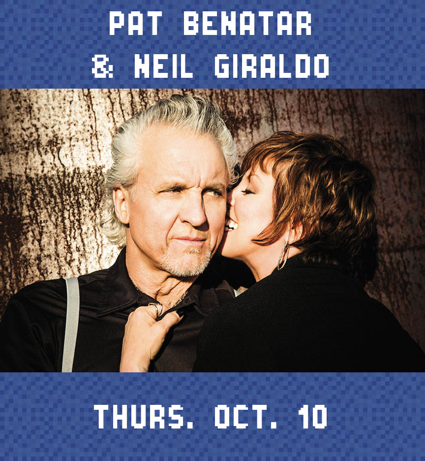 Web Page Concert Photo – Pat Benatar and Niel Giraldo
