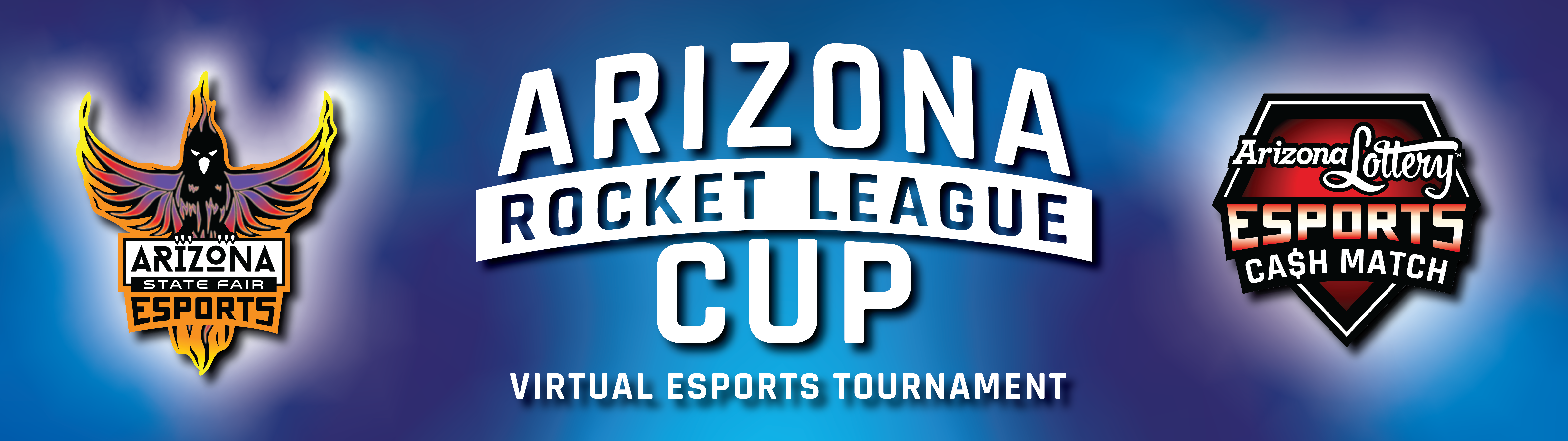 AZ Lottery Esports Rocket League Cup Banner
